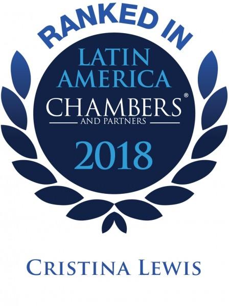 Chambers Latina America 2018-Cristina Lewis
