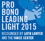 Pro bono leading lights 2015 badge