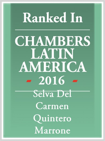 2016- Chamber Latin America-Selva Quintero