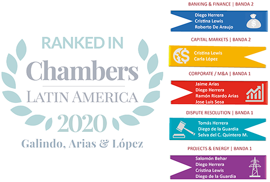 International Recognition – Chambers & Partners Latin America 2020